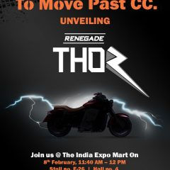 UM Renegade Thor Launch at Auto Expo 2018