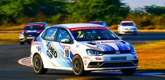 Auto Media Experiences Professional Racing with Volkswagen Ameo Cup