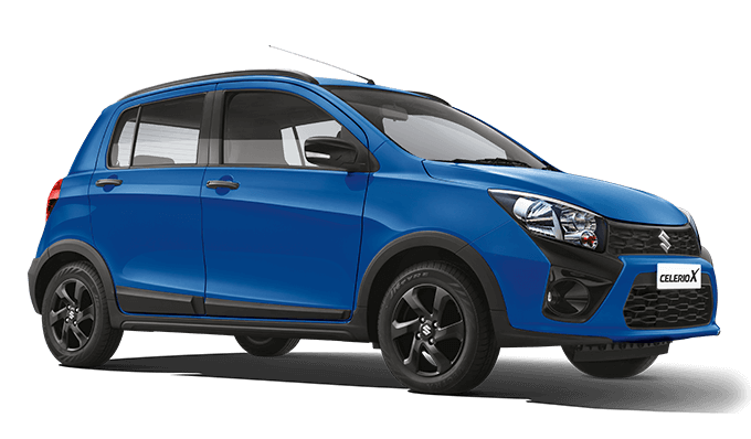 2018 Maruti Celerio X Blue Color (Torque Blue)