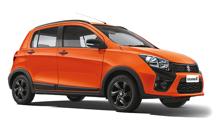2018 Maruti Celerio X Colors Brown Orange White Grey