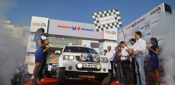 2018 Maruti Suzuki Desert Storm flagged off from Noida