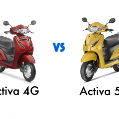 Honda Activa 4G vs Activa 5G: New Features and Verdict