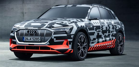 Audi e-tron Electric car prototype Unveiled