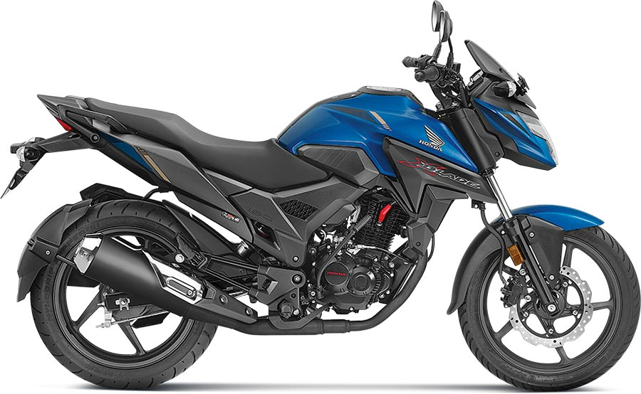 Honda XBlade Marvel Blue Color. Honda XBlade Blue Color Variant.