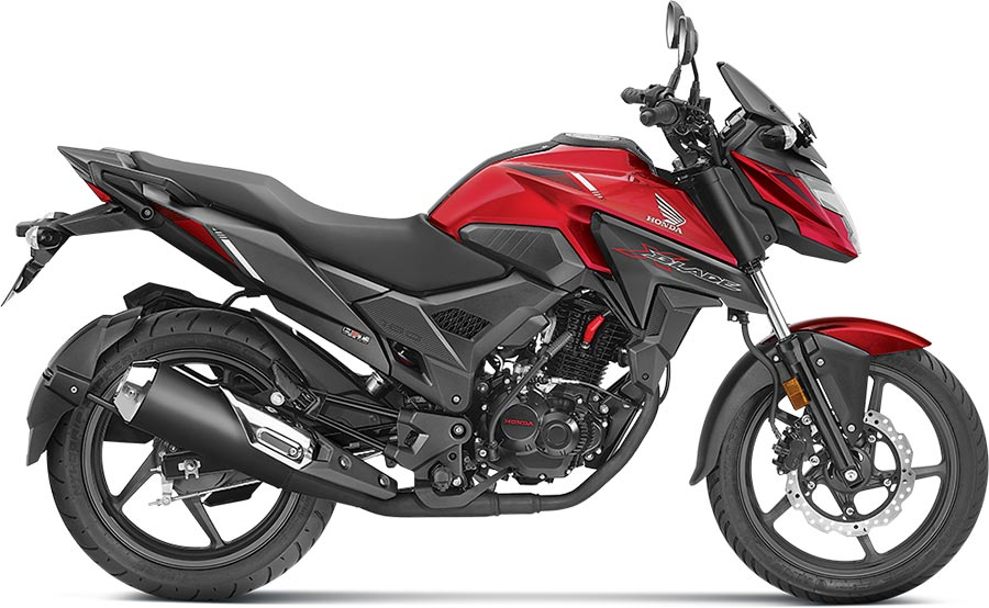 Honda XBlade Red Color - Honda XBlade Pearl Spartan Red Color option