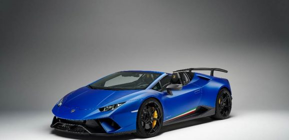 Lamborghini Huracan Performante Spyder Launched