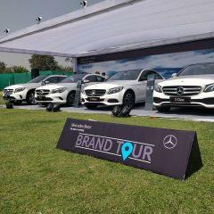 Mercedes-Benz kicks-off a unique 'Brand Tour' (Tier II, Tier III markets)