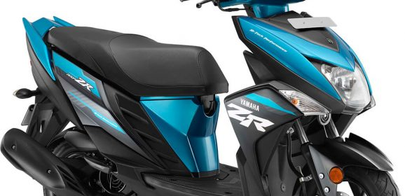 Yamaha Ray-ZR refreshed with new sassy color schemes