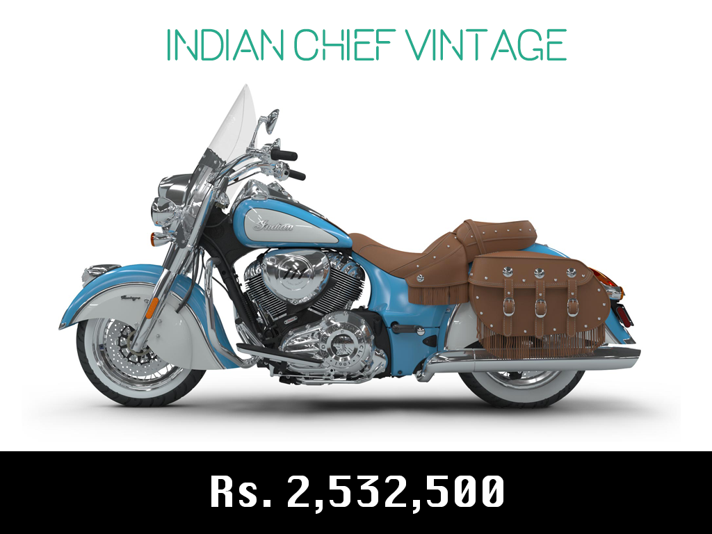 indian motorcycle chief vintage price