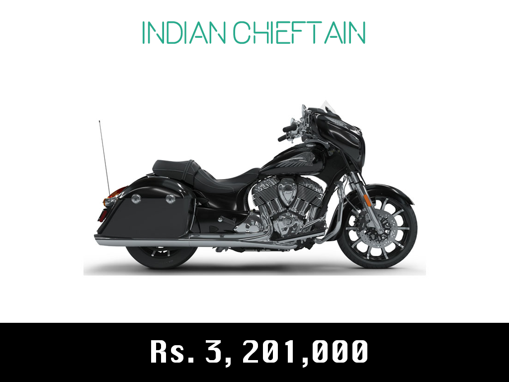 indian motorcycle chieftain price