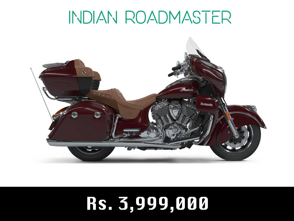 indian motorcycle roadmaster price