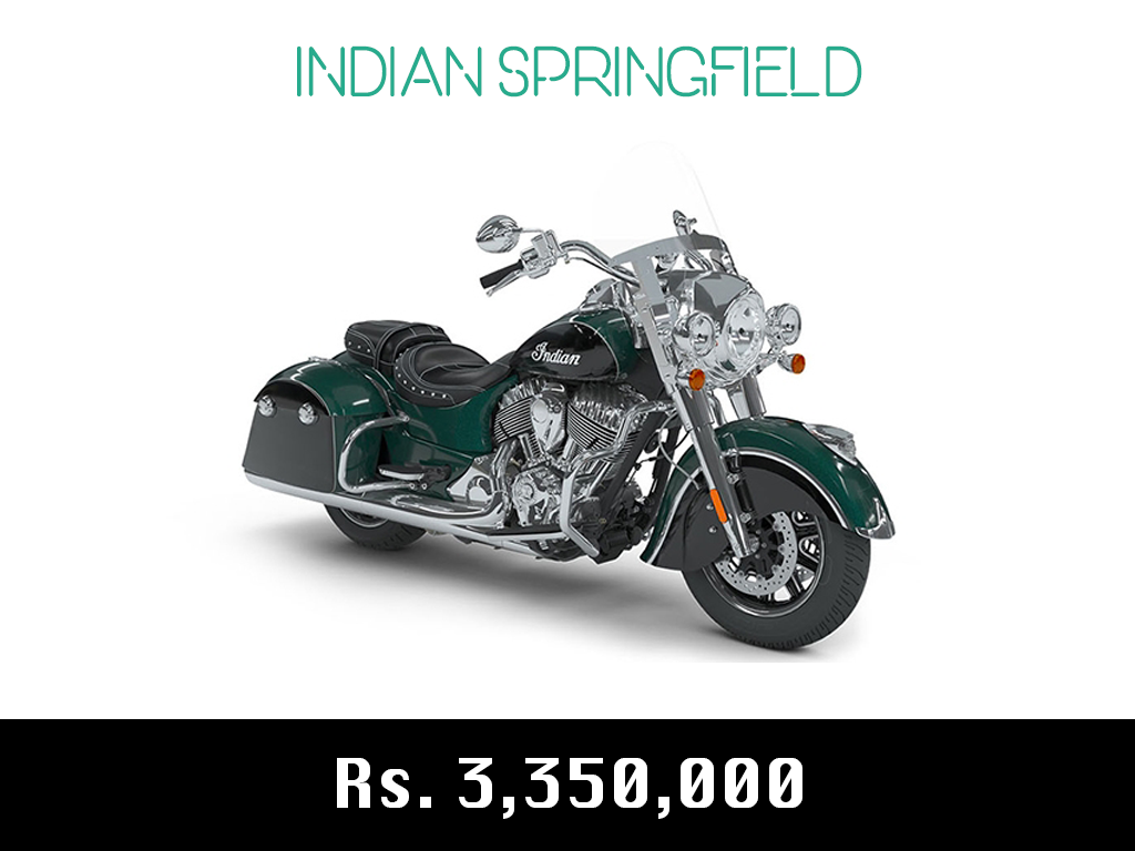 indian motorcycle springfield price