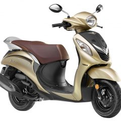 Yamaha Fascino in Glamorous Gold and 6 new Colors Launched