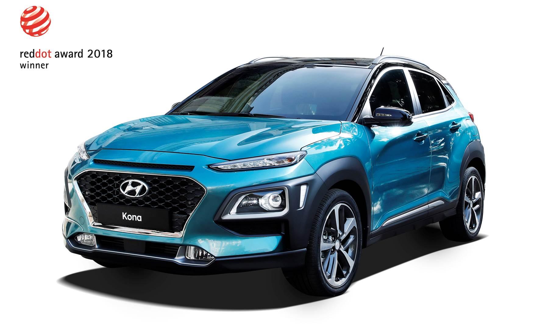 Hyundai Kona Red Dot Design Award