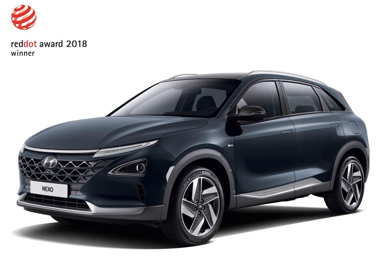 Hyundai Nexo Red Design Award
