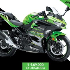 2018 Kawasaki Ninja 400 launched at Rs 4.6 Lakhs