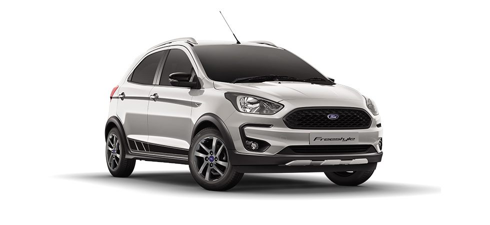 Ford Freestyle 2018 Silver Color (Moondust Silver)