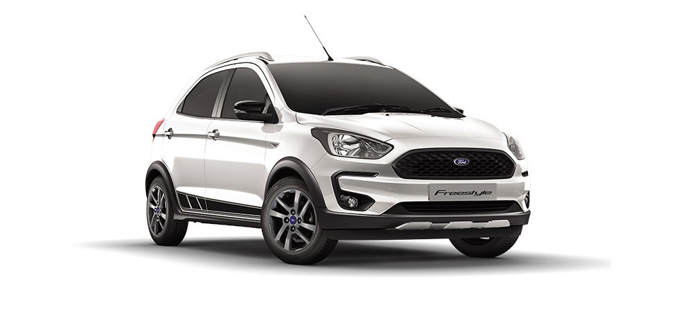 Ford Freestyle 2018 White Color (Oxford White)