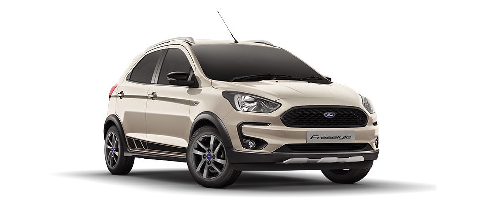 Ford Freestyle 2018 White Color (White Gold)