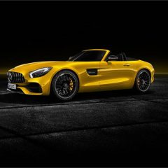 Mercedes-AMG GT S Roadster Unveiled
