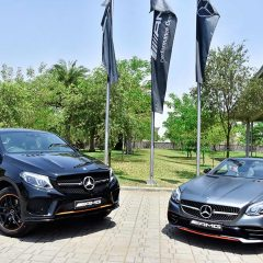 Mercedes-AMG GLE 43 4MATIC Coupe 'OrangeArt', SLC 43 'RedArt'  Launched