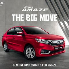 New 2018 Honda Amaze Accessories Listed on Honda Website