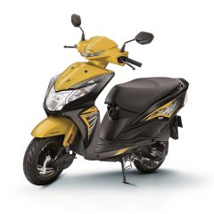 2018 Honda Dio with LED headlamp Launched at Rs 51,292