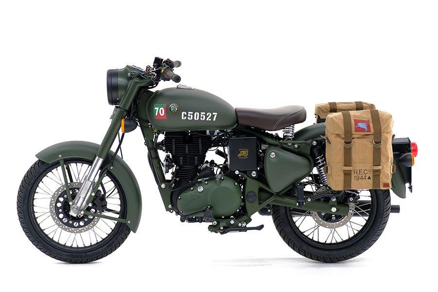 Limited Edition Royal Enfield Classic 500 Pegasus Launched ...