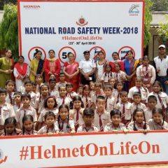 Honda culminates National Road Safety Week 2018