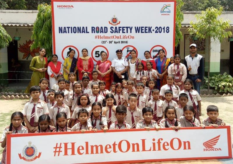 Honda National Road Safety Week 2018