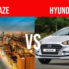 2018 Honda Amaze vs Hyundai Xcent – Compare before you Buy