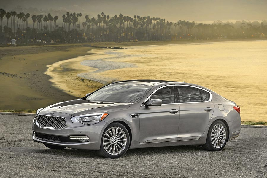 Kia K900 Global Launch