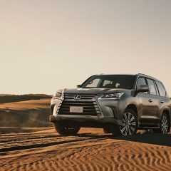Lexus LX 570 SUV Launched in India at Rs 2,32,94,000