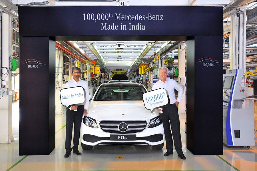 Mercedes-Benz 100,000th Vehicle EClass