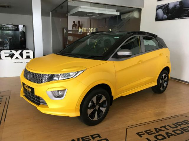 Modified Tata Nexon Srt Frozen Edition Gaadikey