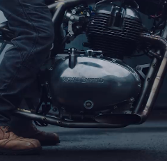 Royal Enfield with Bigger Barrel – 650cc Teased