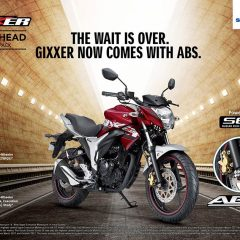 2018 New Suzuki Gixxer ABS Launched at Rs 87,250