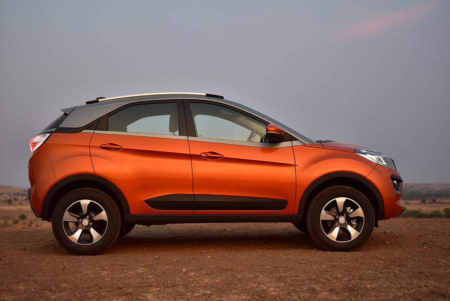 Tata Nexon Amt With Hyprdrive Self Shift Gears Launched