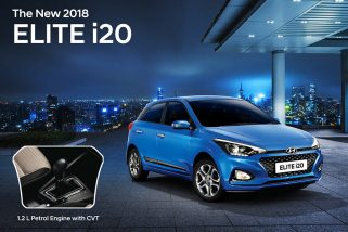 2018 Hyundai Elite i20 1.2 Litre Petrol Engine CVT Option Launched