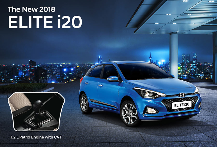 2018 New Hyundai Elite i20 CVT