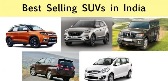 Top 5 Best Selling SUVs in India (2018)