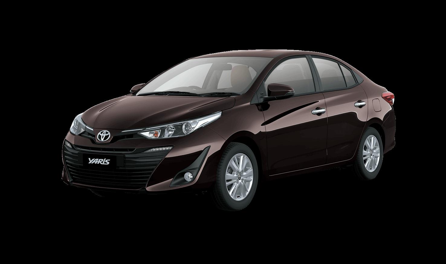 Tooyota Yaris Brown Color - Toyota Yaris Phantom Brown Color