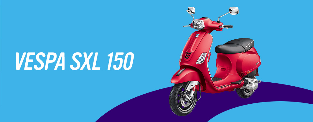 Vespa SXL 150 Colors