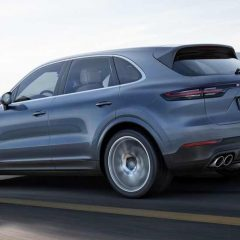 2018 Porsche Cayenne Turbo Launched at Rs. 1.92 Crores