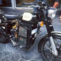 THE SILENT BULLET – Royal Enfield Electric Motorcycle Spied