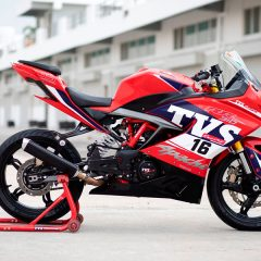 Race spec Apache RR 310 to debut in the TVS Apache RR One Make Series