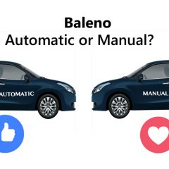 Maruti Baleno Best Variant to Buy  – Automatic or Manual?