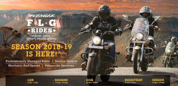 Bajaj Auto Launches Avenger FLG Rides 2018-19