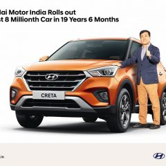 Hyundai India Rolls out 8 Millionth Car
