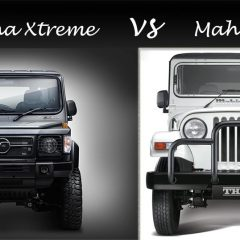 2018 Force Gurkha Xtreme vs 2018 Mahindra Thar C -spec Comparison